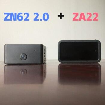 Wi Fi камера ночного видения ZN62 с невидимой инфракрасной беспроводной камерой ZA22, светодиодный дисплей в режиме реального времени с помощью т