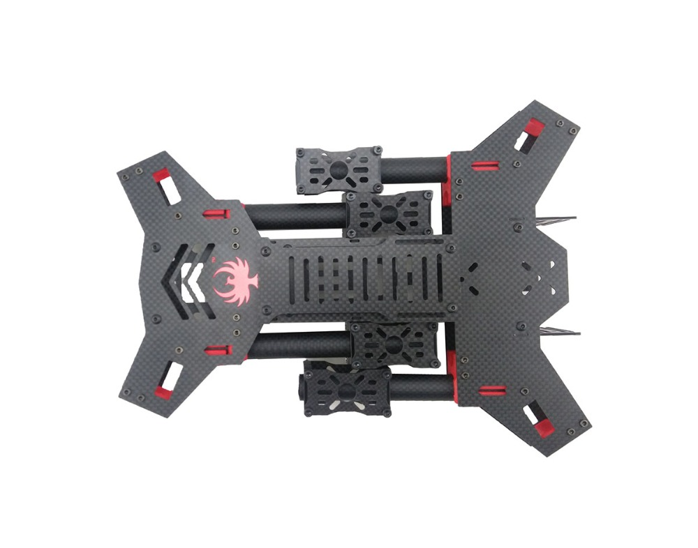 FPV drone quadcopter H4 Alien 450/680 reinem kohlenstoff klapp ...