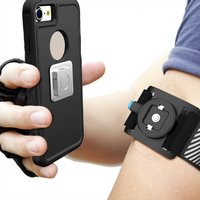 Universal Magnetic Phone Armband Running Arm Bag Clip Sport Cycling Pouch Case Light Weight For IPhone