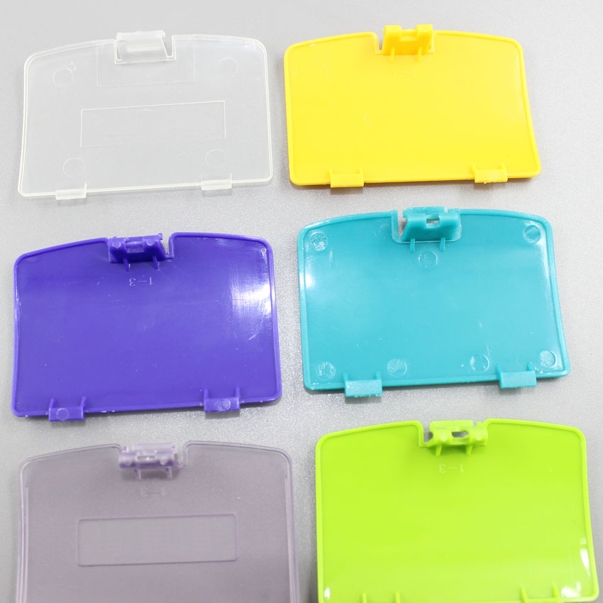 For GBC Battery Cover for Gameboy Color Battery Cover Replacement Door Mix Colors