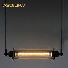 Lámpara colgante para Loft iluminación industrial, lámpara colgante clásica Vintage, Retro, accesorios de iluminación ajustables, bar y café