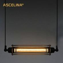 Loft Luce del pendente Lampada di illuminazione industriale lampada a sospensione Epoca Vintage luce Della Lampada Retro Regolabile Light Fixtures bar caffè