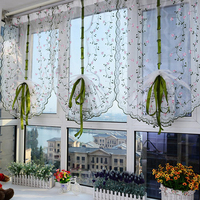 New 7 Style Pastoral Bed Room Window Curtains 80 *100 T0.21