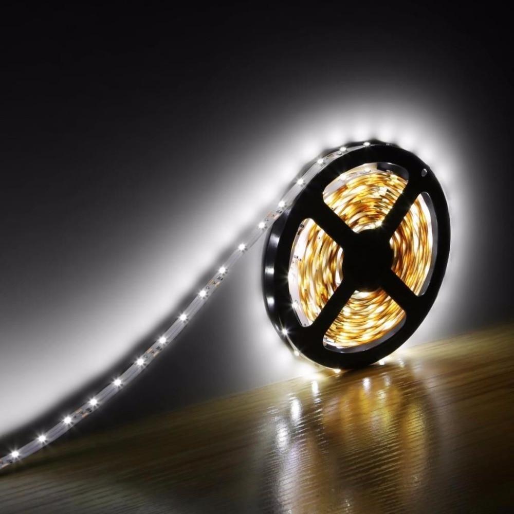 Led Lighting Strips For Home: 5M/Roll 300 LEDs SMD 3528 LED Strip Light RGB Flexible