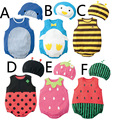 New Arrival Baby Sets Romper Cotton Cos Fruit Cute Baby Boy Girl Romper Sets Clothing 0-2T CD67