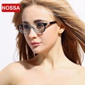 NOSSA Brand Ultra Light TR90 Glasses Frame Lady Girl Women Elegant Eyeglasses Frames Blue Pink Black Brown