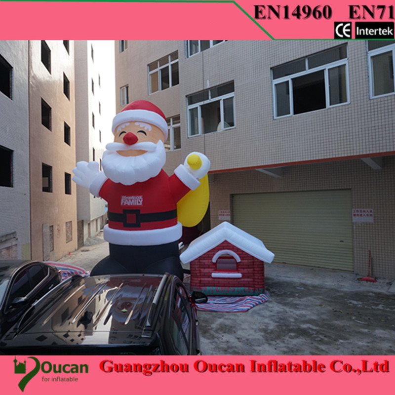 inflatable santa claus, inflatable Christmas decoration with free shipping by DHL express free shipping hot sales inflatable christmas santa claus christmas decoration