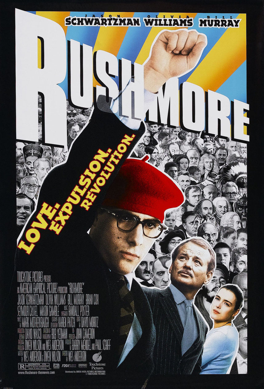 RUSHMORE Movie Bill Murray Wes Anderson Silk Poster Art Bedroom Decoration 1779 image