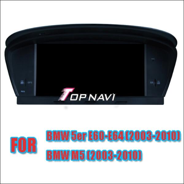 O Envio gratuito de 8 ''Wince Car Stereo Para E60 E61 E63 E64 2003-2010/M5 2003-2010 para BMW Com Multimedia Radio Bluetooth Mapa