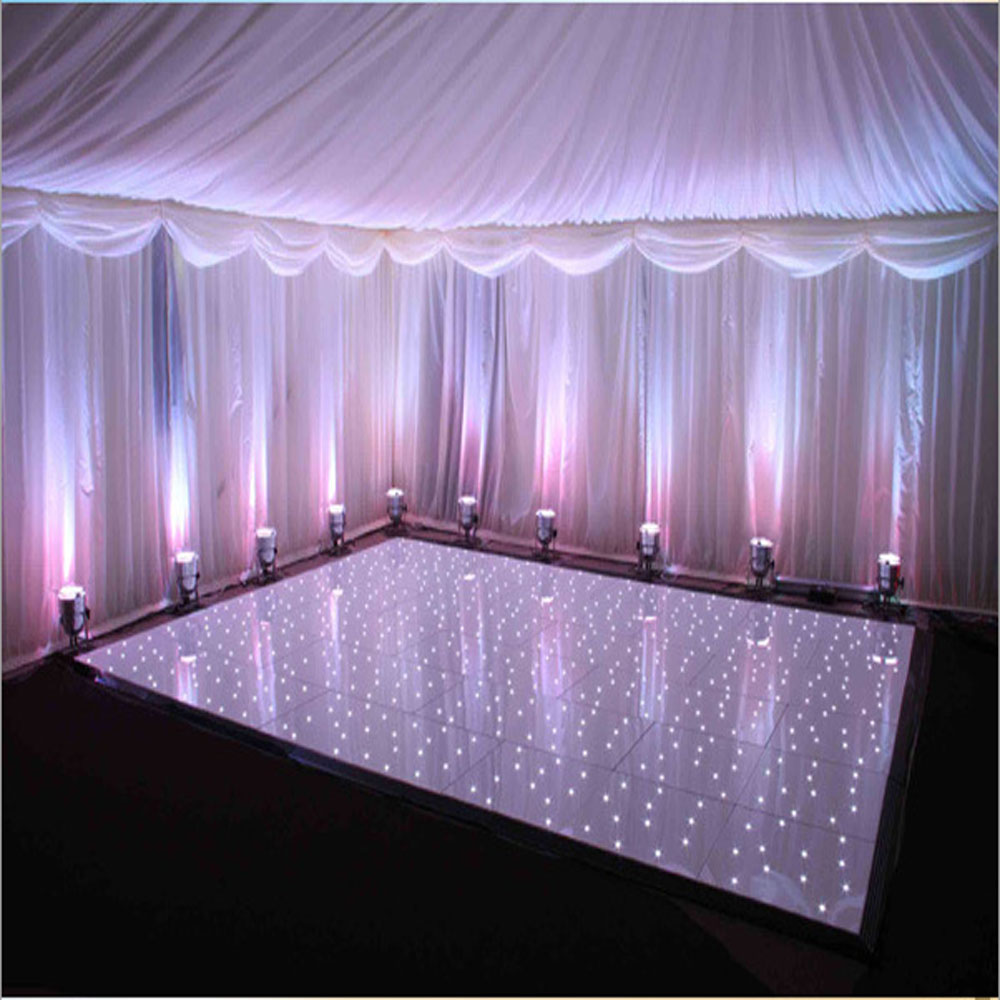 20x20 Led Dance Floor Sale White Twinkling Disco Dance