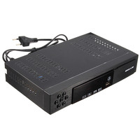 1pc Full HD 1080P T2 S2 Video Broadcasting Satellite Receiver Box TV HDTV Composite Digital High