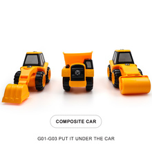 3Pcs Youwant Car Toy Model Suitable for Children Beach