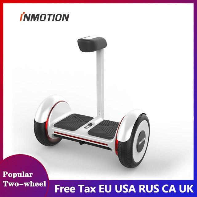Planche à roulettes électrique intelligente de HoverBoard de deux roues de Scooter d'équilibre d'individu d'inmotion E2 avec le véhicule de scooter d'app LED