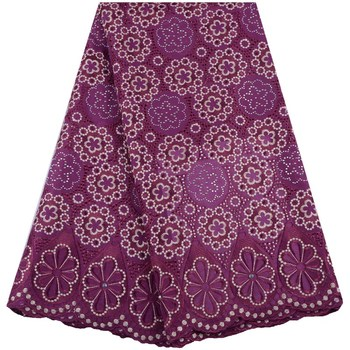 New Arrivals African Lace Fabric 100%Cotton Lace Swiss Voile Lace Fabric In Switzerland Top Cotton Swiss Voile Lace Fabric A1539