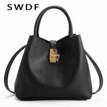 SWDF Womens Handbags In Totes Fashion Shoulder Bags Ladies Simple Women Messenger Bag Female Handbag Organizer