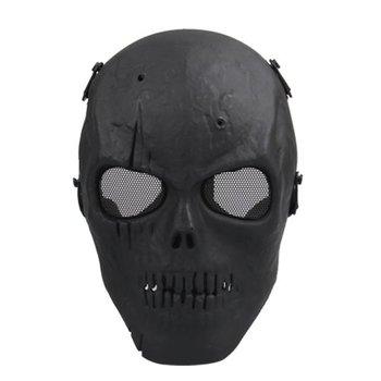 TFBC Airsoft Maske Schädel Voll Schutz Maske Military-Schwarz