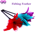 29CM 3 Color Red Feather flirt stick Tickler Happy Spanking Aid Teasing Erotic Toy Adult Couples Sex adlut Games for woman men