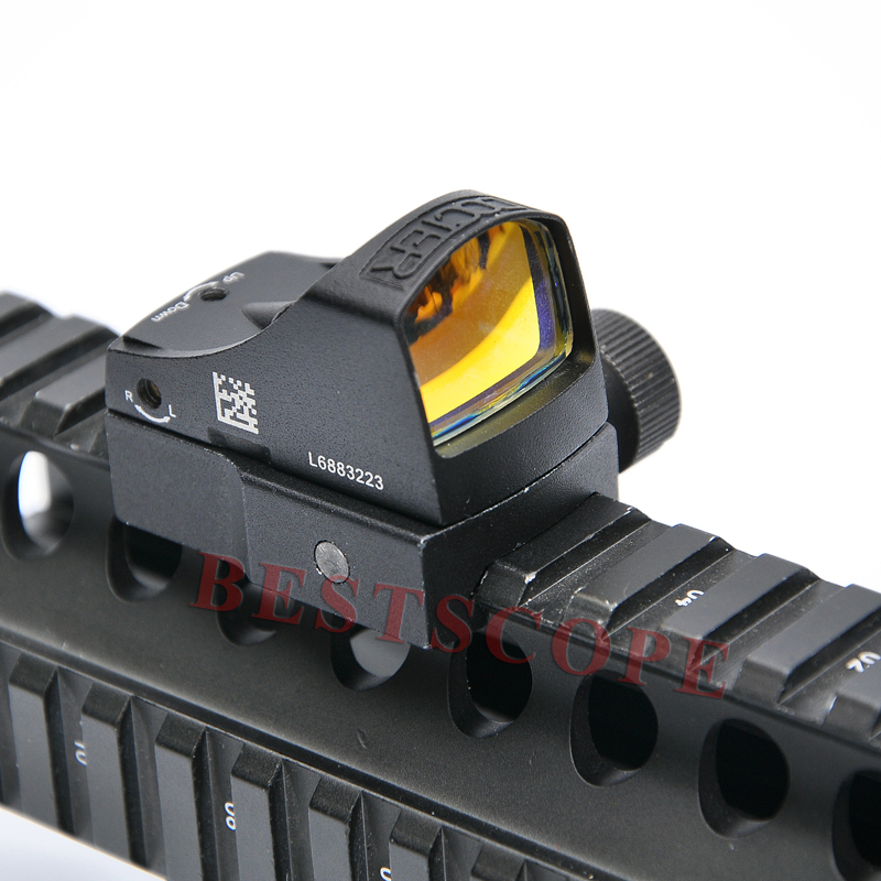 Docter 3 Sight Mini Red dot sight Reflex Holographic Dot Sight Auto Brightness Laser Sight Scope For Airsoft  цены