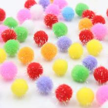 18mm 50PCS/Lot Christmas Tree decoration Childrens educational toys Manual materials DIY Ball Ornaments