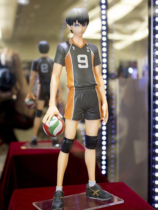 ФОТО Anime Cartoon Original Haikyuu!! Kageyama Tobio Hinata Syouyou Shoyo MSP Volleyball 25CM  PVC Action Figure Collectible Toy