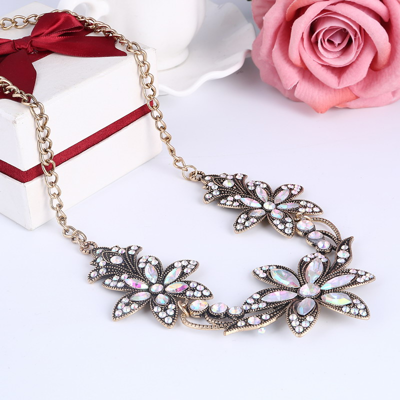 19 Fashion Designer Chain Choker Statement Necklace Women Necklace Bib Necklaces & Pendants Gold Silver Chain Vintage Jewelry 23