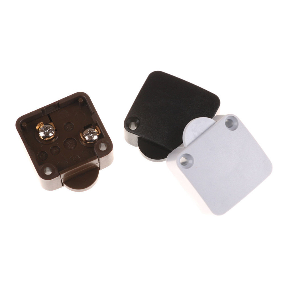 Automatic Reset Switch Wardrobe Cabinet Light Switch Door Control Switch for Home Furniture Cabinet Cupboard Light Switch tools in Switches from Lights Lighting