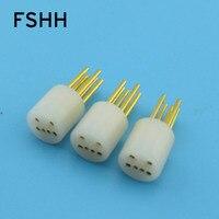 6pin laser diode test socket LD test socket 5.5 * 13.5mm
