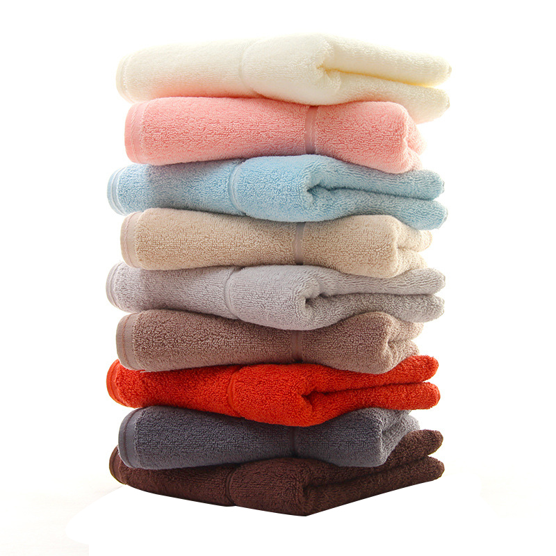 new arrival 3 pack towel set 100 cotton hand towels solid quick dry face washer thick bathroom drying towel 3476cm