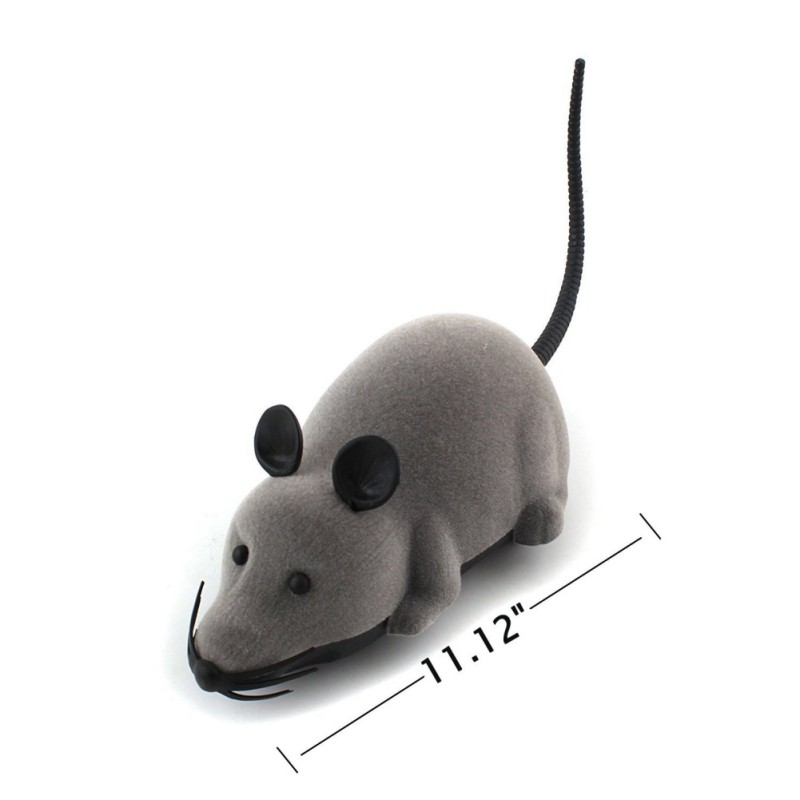Cat Toy Wireless Remote Control Mouse