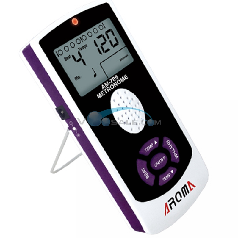 aroma am 705 mechanial metronome use for guitar piano with lcd screen guitar metronome for ease. Black Bedroom Furniture Sets. Home Design Ideas