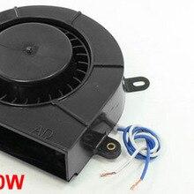 Черный металлический корпус в форме улитки для двигателя нагнетателя отопителя AC 110 V 10 W 2400 RPM