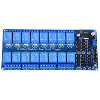 5V 16 Channel Relay Board Module Optocoupler LED For PiC ARM AVR
