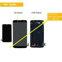 10 шт./лот для LG K8 2016 ЖК-дисплей LTE K350N K350E K350DS ЖК-дисплей Дисплей Сенсорный экран планшета в сборе с рамкой для K8 ЖК-дисплей выполните