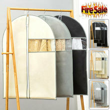 Breathable Dust Cover Hanging Garment Coat Clothes Protector Bags Damp-proof Foldable Storage