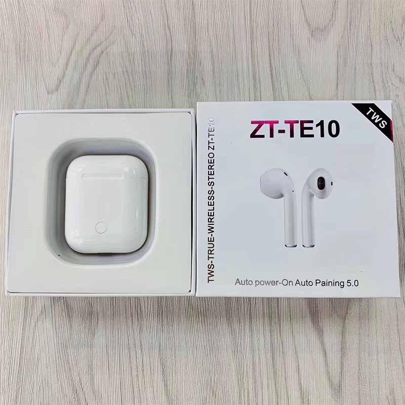 2019 nouveau ZT TE10 TWS 1:1 air mini écouteur sans fil 5.0 3D basses écouteurs VS W1 puce I21 i20 tws LK TE8 TE9 XY oreille pods