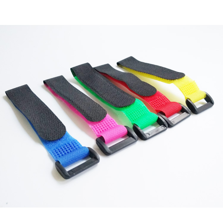 5pcs 2*20 30 45cm Magic Sticker Strap Lipo Battery Ribbon Fastener Reusable Cable Tie Wrap for 250 450 500 550 Quadcopter image