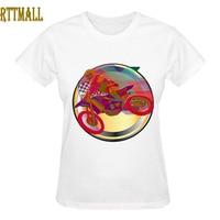 RTTMALL Digital Print Moto Vehicle Hip Hop T Shirt for Womens Top Design Xtreme Motorcycle Team T Shirts Femme Short Sleeve Tees