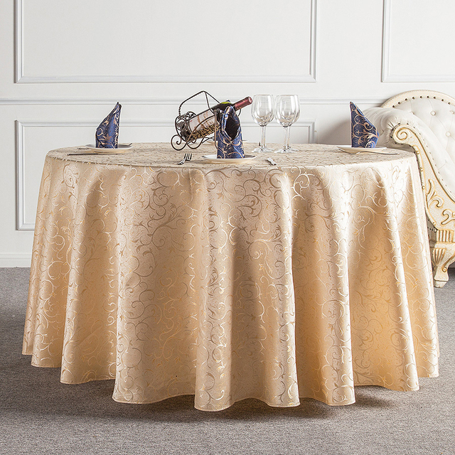 Design Cute Pattern Home Beige Table Cloth Party Tablecloths