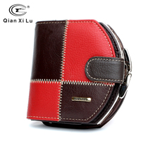 Qianxilu Brand 2016 Genuine Leather Coin Purse Women Fashion Hobos mini Wallets High Quality