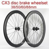 Новый 700C 38/50/60/88 мм шоссейный велосипед матовый UD полностью из углеродного волокна, руль для велосипеда трубчатая клинчерная покрышка диски