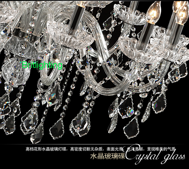 15lights Bohemian Crystal Chandelier Living Room Modern Chandeliers China Small Kitchen In From Lights