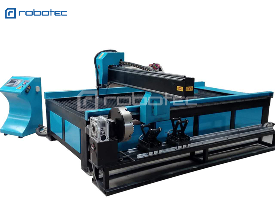 Cnc plasma cutter 63A HuaYuan power cnc plasma cutting machine with rotary device Price $5,950.00
