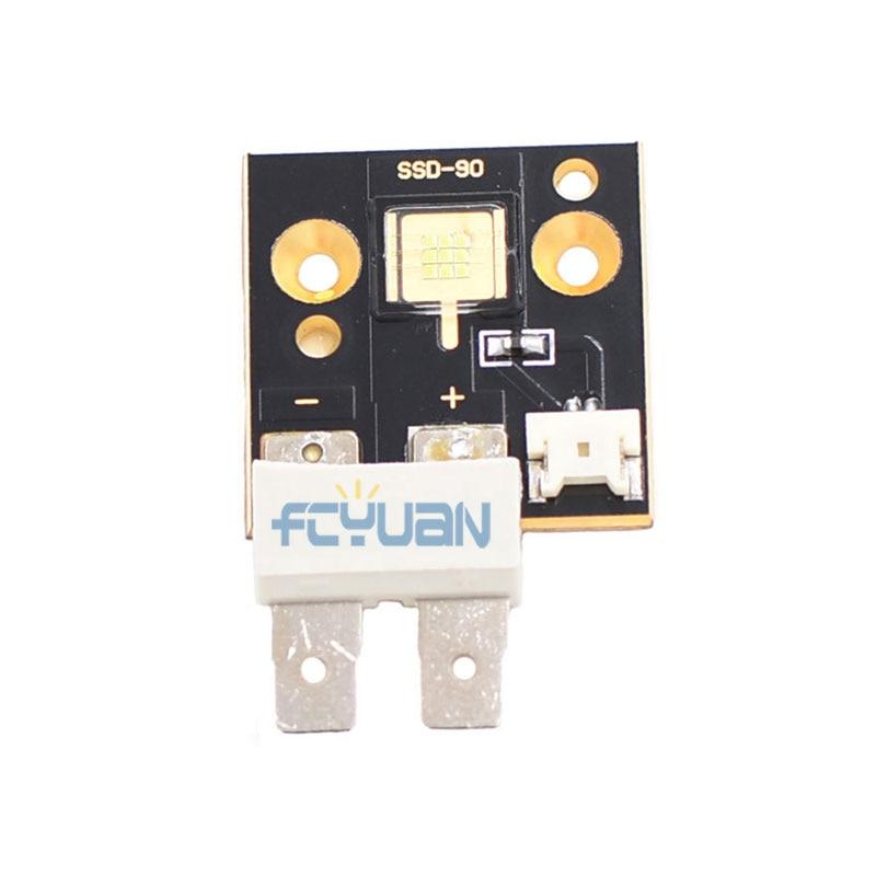 4PCS/Lot 60w Led Moving Head Light Source Led Chips Module 6500k 3000 Lumen Single White 60w Led Beam Moving Head Lighting Parts цена