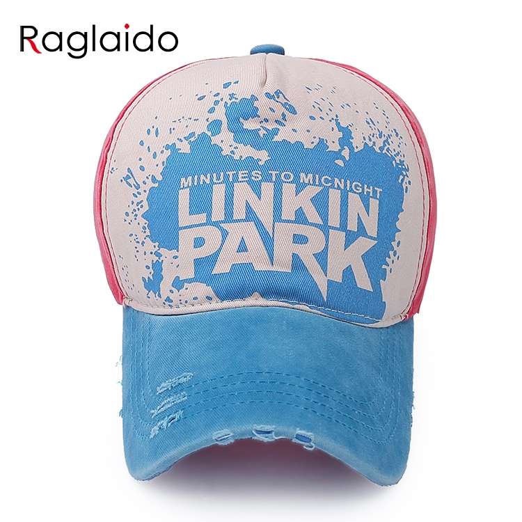army style baseball caps new fashion cap mens hats basketball printed patchwork cotton font