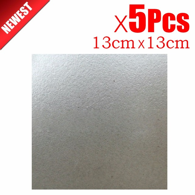 5pcs 13cm Spare Parts Thickening Mica Plates Microwave Ovens Sheets For Galanz Midea Panasonic