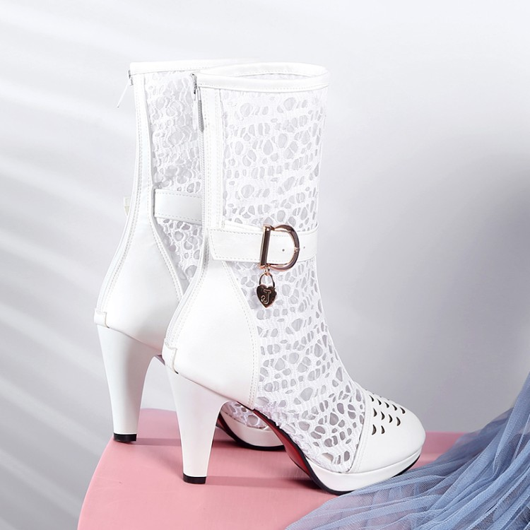 Big Size 9 10 11-15 boots women shoes ankle boots for women ladies boots Belt buckle hollow back zipperBig Size 9 10 11-15 boots women shoes ankle boots for women ladies boots Belt buckle hollow back zipper