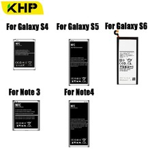2019 KHP Battery For Samsung Galaxy S4 S5 S6 Note 3 Note 4 Battery B800BE B600BC EB-BN910BBE EB-BG900BBC EB-BG920ABE Batteries аккумуляторная батарея samsung eb bn910bbe galaxy note 4 [eb bn910bbegru]