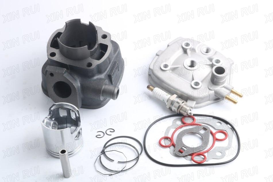 70cc Big Bore Cylinder Barrel Kit for Yamaha Aerox MBK Nitro Mach G 50 LC 38mm cylinder barrel piston kit