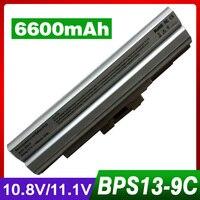ApexWay 6600 mAh Plata Portátil BPS21 Batería 11.1 V para Sony BPS13 VGP-BPL13 VGP-BPL21 para Sony VAIO PCG Serie SVE VPC-M VPC-F