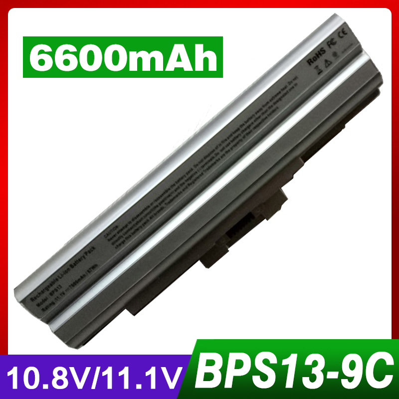 все цены на ApexWay 6600mAh Silver Laptop Battery 11.1V for Sony BPS13 BPS21 VGP-BPL13 VGP-BPL21 for Sony PCG VAIO SVE Series VPC-M VPC-F онлайн